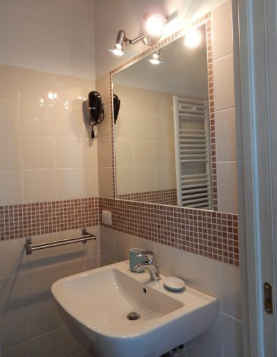 Bagno in camera Bed and Breakfast Pastore abruzzese