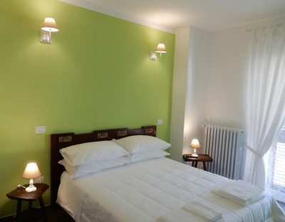 Camera verde Bed and Breakfast Pastore abruzzese