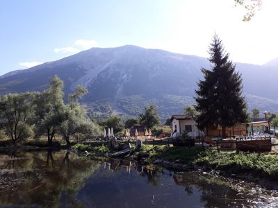 Lago Ticino (area naturale del Germano reale) di Campo di Giove (a 2 chilometri dal Bed and Breakfast Pastore abruzzese)