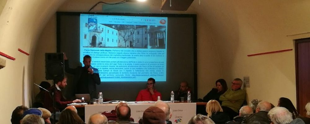 """La presentazione della lista civica """"La Locomotiva"""", tra idee e confronti"""