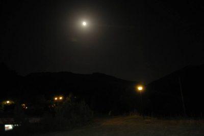 Camping Orsa Minore, veduta notturna