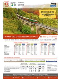 Gli eventi celebrativi organizzati dalla Fondazione FS per i 120 anni dall'inaugurazione della linea ferroviaria Sulmona - Isernia (Transiberiana d'Italia)