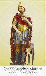 Sant'Eustachio Martire è il Patrono di Campo di Giove (Aq)