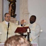 Mons. Michele Fusco e don Magloire