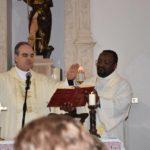 Mons. Michele Fusco e don Magloire