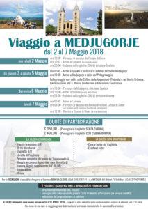 Il Parroco di Campo di Giove don Magloire organizza un pellegrinaggio a Medjugorje dal 2 al 7 maggio 2018