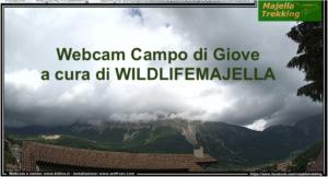 Webcam Campo di Giove (Aq), Abruzzo, Italy. A cura di wildlifemajella.com