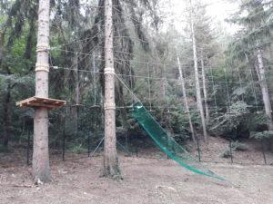 """Il percorso avventura """"Maja Park"""" di Campo di Giove"""