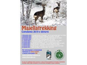 Il Programma dal 28 dicembre 2018 al 6 gennaio 2019 delle escursioni nei boschi e sentieri della Maiella proposto dall'Accompagnatore di Media Montagna William Santoleri di Majellatrekking e Pine Cube