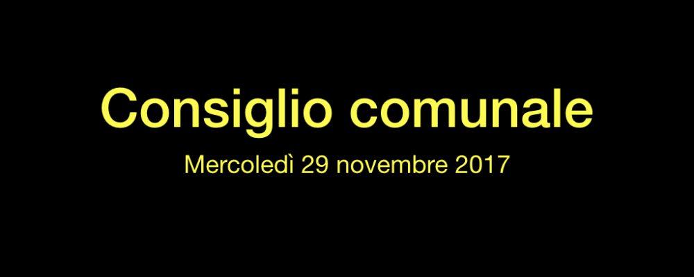Brevi considerazioni sul Consiglio comunale di mercoledì 29 novembre