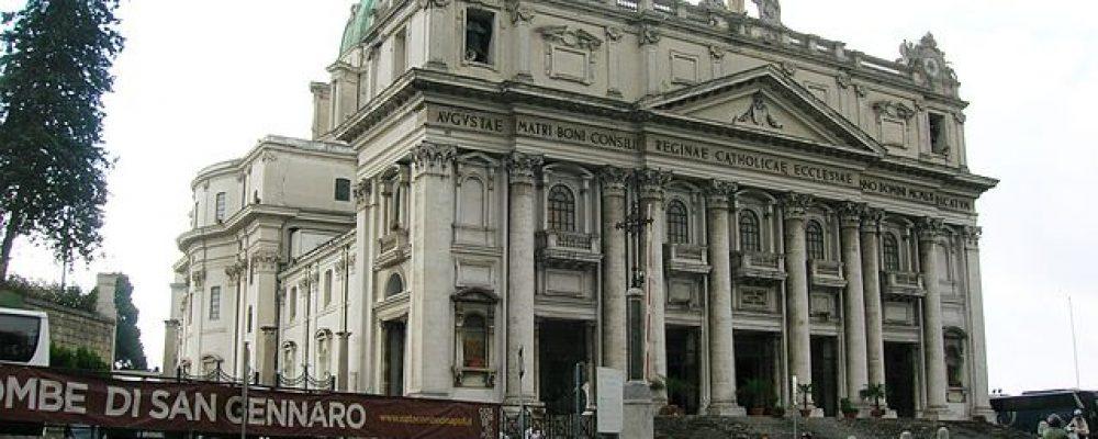 La Parrocchia di Sant'Eustachio propone un pellegrinaggio a Napoli il prossimo 13 maggio