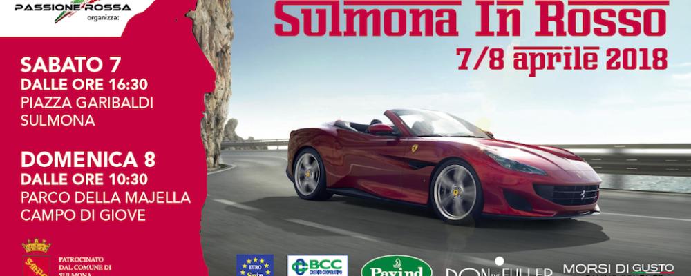 Raduno Ferrari a Campo di Giove