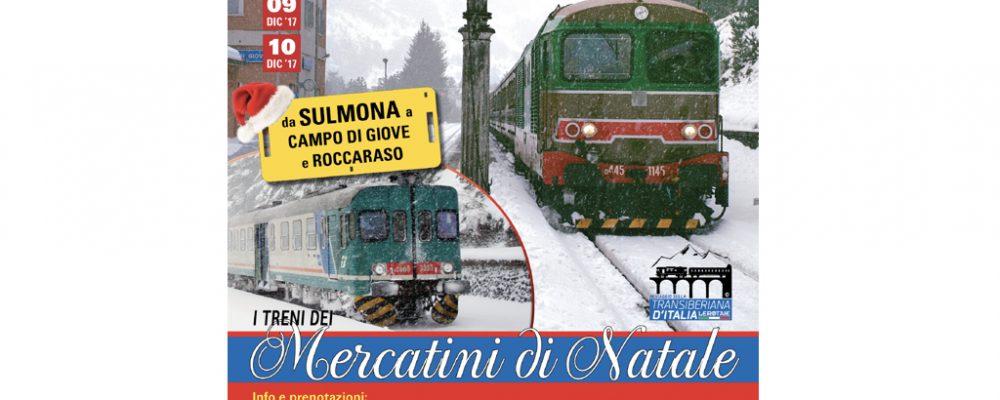 Treni e Mercatini di Natale a Campo di Giove
