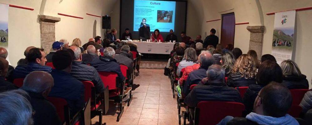 Elezioni comunali di Campo di Giove, l'incontro tra cittadini e candidati della lista la locomotiva