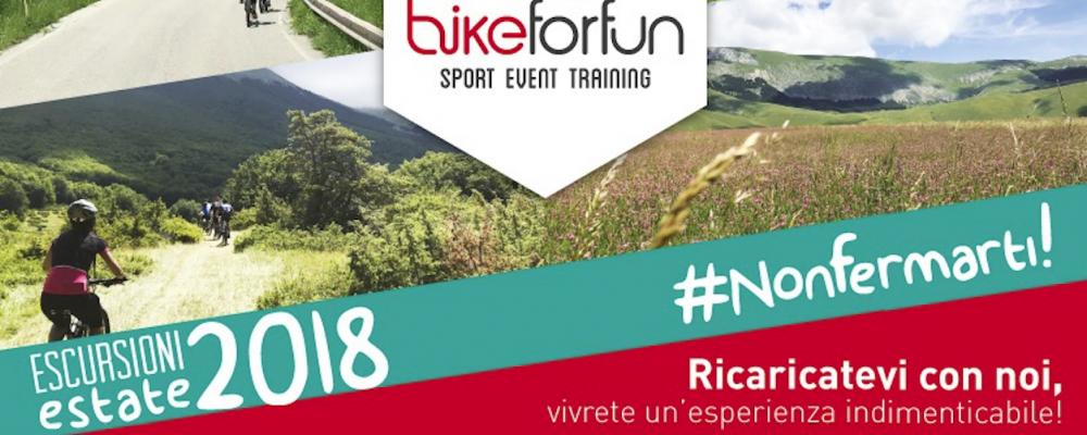 Sport, natura e cultura con Bike for Fun, alla scoperta dell'Abruzzo in modo divertente e salutare