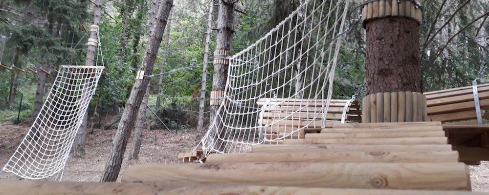 """Il Parco Avventura """"Maja Park"""" di Campo di Giove"""