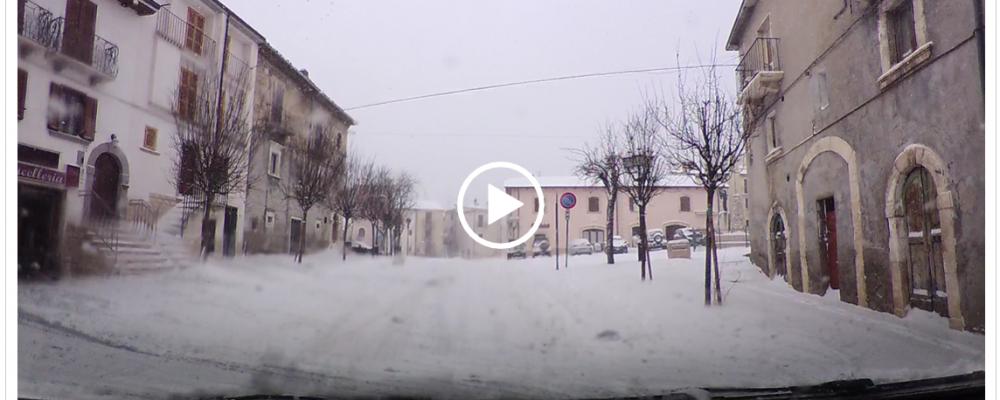 Nevicate modeste, viabilità ottimale e temperature in ribasso