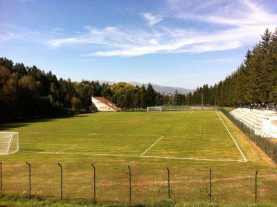 Campo di Giove, il campo di calcio in erba