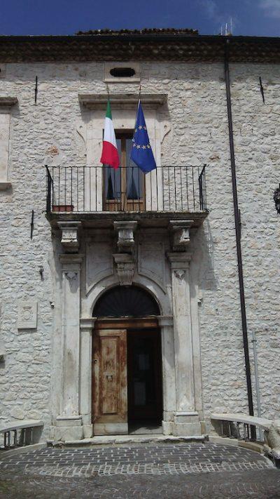 Palazzo Ricciardi, sede del Comune di Campo di Giove (Aq)